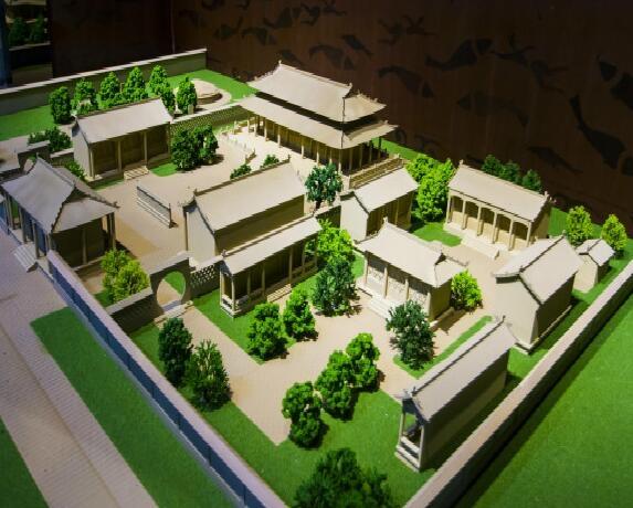 不同沙盘模型中的绿化景观差异有哪些?