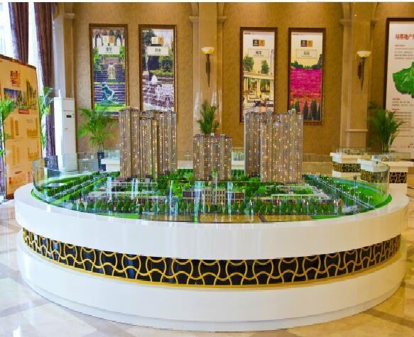 沙盘模型居住区空间与环境的设计原则是什么?