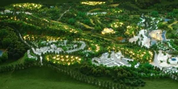 沙盘模型绿地的制作方法
