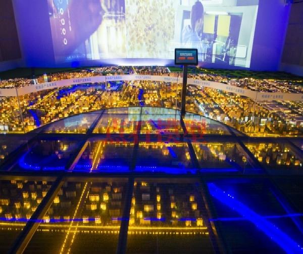 山西柘城规划模型